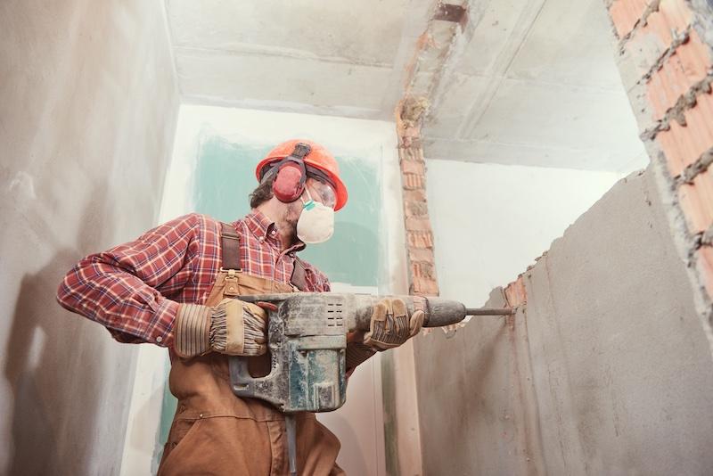 Abbruch - Mauern beseitigen